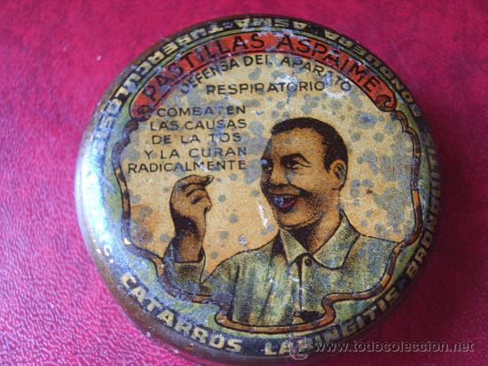 Cajas y cajitas metálicas: Pareja Cajitas PASTILLAS ASPAIME. - Foto 3 - 27237917