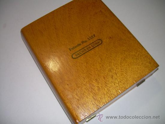 Cajas y cajitas metálicas: ANTIGUA CAJA DE MADERA NOBLE...........PUROS..............PARTAGAS 8.9.8 - Foto 3 - 21129943