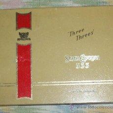 Cajas y cajitas metálicas: CAJA TABACO STATE EXPRESS 333. Lote 25444709