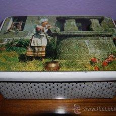 Cajas y cajitas metálicas: LATA LITOGRAFIADA - FRANCE - CAJA DE GALLETAS - FRANCIA - CUETARA. Lote 26789078