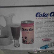 Cajas y cajitas metálicas: CAJA LATA COLA CAO. Lote 22088602