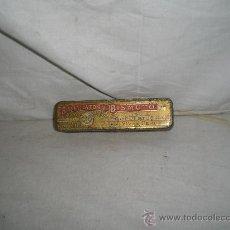 Cajas y cajitas metálicas: BONITA CAJITA METALICA SALICILATOS DE BISMUTO. FARMACEUTICA S.XIX.. Lote 22114598
