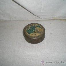 Cajas y cajitas metálicas: BONITA CAJITA METALICA FARMACEUTICA PASTILLAS VALDA S.XIX. Lote 22114686