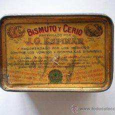 Cajas y cajitas metálicas: CAJA BISMUTO. Lote 26830962
