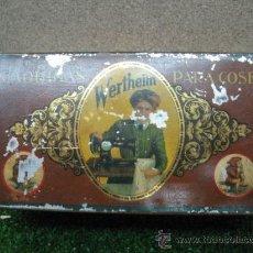 """Cajas y cajitas metálicas: CAJITA METALICA DE MAQUINAS DE COSER """" WERTHEIN"""". Lote 22850878"""