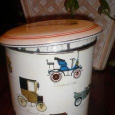 Cajas y cajitas metálicas: ANTIGUO BOTE DE GALLETAS. Lote 27014328