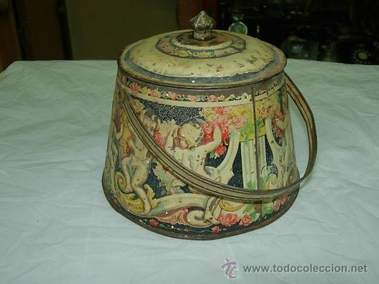 CAJA DE LATA (Coleccionismo - Cajas y Cajitas Metálicas)
