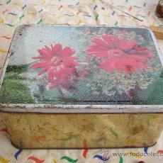 Cajas y cajitas metálicas: CAJA HOJALATA. Lote 23704179