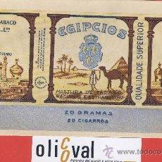 Cajas y cajitas metálicas: CAJA-DESPLEGADA DE TABACO -ANCORA- AÇORES - EGIPCIOS -MISTURA DE TABACO190 X10 MM . Lote 24154869