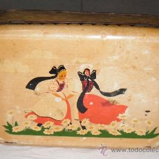 Cajas y cajitas metálicas - caja caramelos alemana años 40 - 26447503