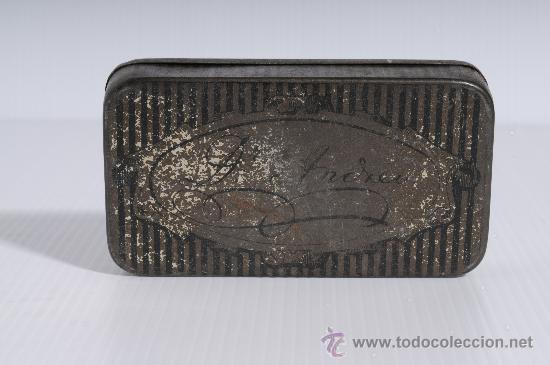 Cajas y cajitas metálicas: Cajita metalica de farmacia: Pasta pectoral del Dr. Andreu contra la tos - Foto 3 - 25386555