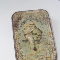 Cajas y cajitas metálicas: CAJA DULCE DE MEMBRILLO SAN ANTONIO PUENTE GENIL. . Lote 25601293