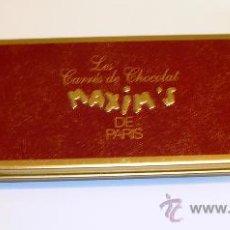 Cajas y cajitas metálicas: CAJITA METÁLICA MAXIM´S DE PARÍS. Lote 26072476