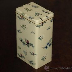 Cajas y cajitas metálicas: CAJA METÁLICA HERBISSIMO.. Lote 26362713
