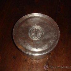 Cajas y cajitas metálicas: ANTIGUA FIAMBRERA DE ALUMINIO. Lote 26691747