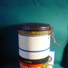 Cajas y cajitas metálicas: CAFE TUBINO - 1966 - BOTE DE LATA CON TAPA DE PLASTICO - VACIO -. Lote 27671008