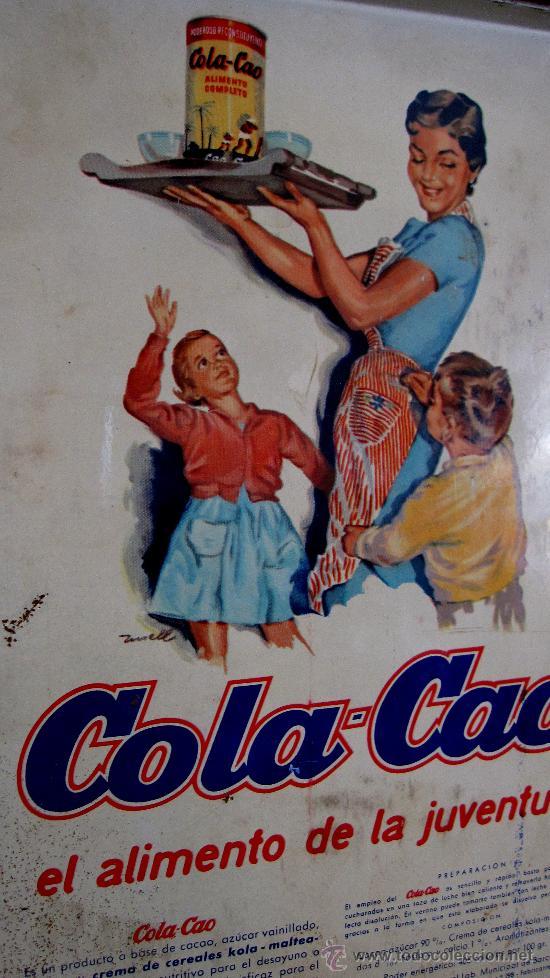 Cajas y cajitas metálicas: COLACAO AÑOS 60: CAJA, ESTUCHE DECORADA CON FLORES Y FONDO ROJIZO - Foto 2 - 28488408