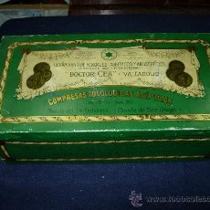 Cajas y cajitas metálicas: CAJA DOCTOR CEA. Lote 28594539