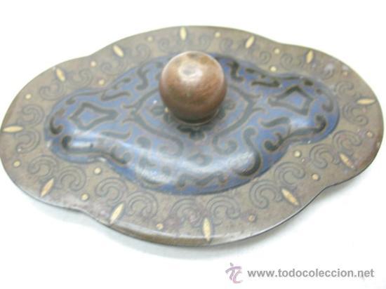 Cajas y cajitas metálicas: ANTIGUA CAJA DE HOJALATA CON DIBUJOS - Foto 5 - 28951223