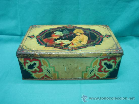 Cajas y cajitas metálicas: Caja metalica fabricada en industrias metalgraficas-Tintoré Oller ( Barcelona) - Foto 2 - 28987681