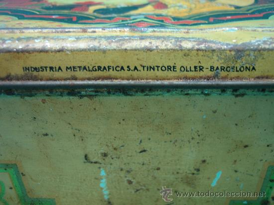 Cajas y cajitas metálicas: Caja metalica fabricada en industrias metalgraficas-Tintoré Oller ( Barcelona) - Foto 4 - 28987681