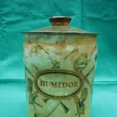 Cajas y cajitas metálicas: LATA DE PARA CAFE HUMIIDOR. Lote 29103169