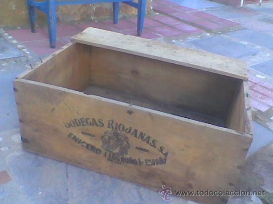 antigua caja madera cenicero logroo rioja vino ver fotos adicionales