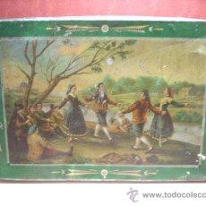 Cajas y cajitas metálicas: CAJA HERNANDO GUAJARDO.GUADALAJARA.BIZCOCHOS BORRACHOS.ANDREIS(BADALONA)¡¡. Lote 29179034