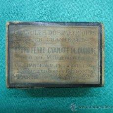 Cajas y cajitas metálicas: CAJAS DE MEDICAMENTO ANTIGUA FRANCESA PARA COLECCION. Lote 29416147
