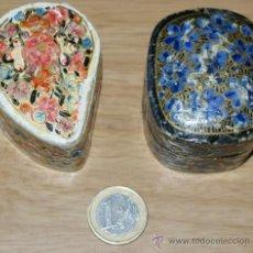 Cajas y cajitas metálicas: PAREJA DE CAJITAS. Lote 29779839