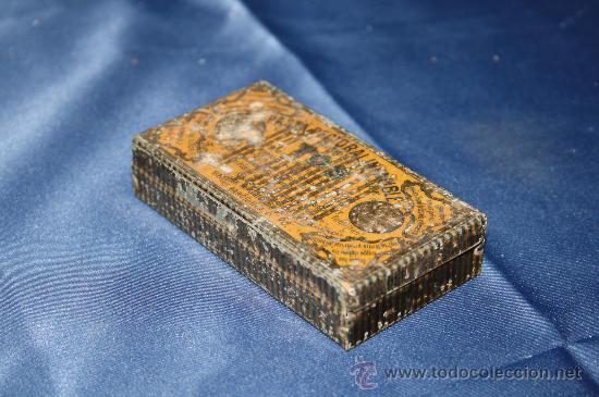 Cajas y cajitas metálicas: BONITA CAJA DE HOJALATA - PASTA PECTORAL PARA LA TOS - BARCELONA - Foto 2 - 30715578