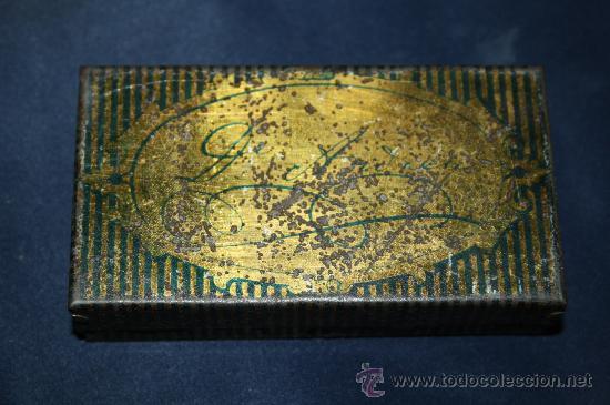 Cajas y cajitas metálicas: BONITA CAJA DE HOJALATA - PASTA PECTORAL PARA LA TOS - BARCELONA - Foto 3 - 30715578