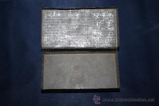 Cajas y cajitas metálicas: BONITA CAJA DE HOJALATA - PASTA PECTORAL PARA LA TOS - BARCELONA - Foto 4 - 30715578