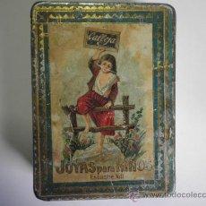 Cajas y cajitas metálicas: CAJA DE HOJALATA CALLEJA Nº XIII. Lote 31302265