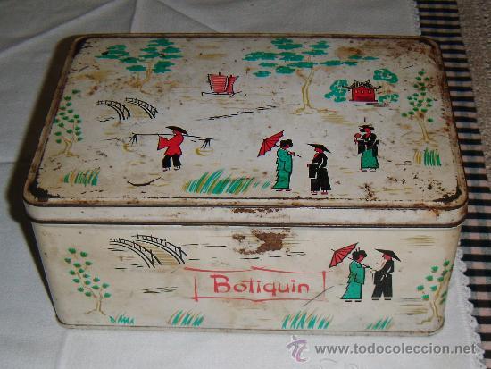 LATA COLACAO BOTIQUIN (Coleccionismo - Cajas y Cajitas Metálicas)