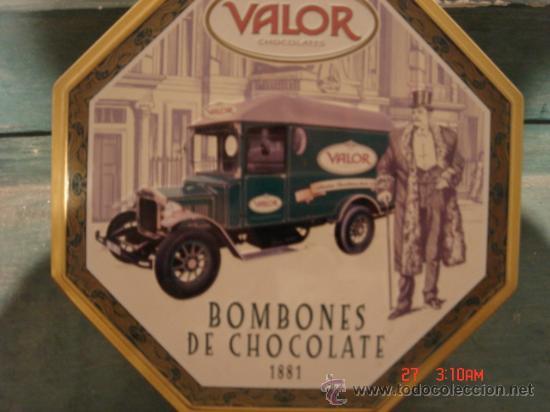 CAJA METALICA DE BOMBONES VALOR EN DE CONSERVACIÓN (Coleccionismo - Cajas y Cajitas Metálicas)