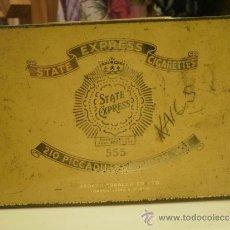 Cajas y cajitas metálicas: ANTIGUA CAJA DE LATA. Lote 32059181