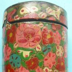Boîtes et petites boîtes métalliques: CAJITA ANTIGUA DE PAPEL MACHÉ. Lote 32702213