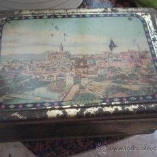 Blechdosen und Kisten - antigua caja metal - 32739807