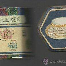 Cajas y cajitas metálicas: RARA CAJITA ANTIGUA DE FORMA HEXAGONAL. Lote 33354842