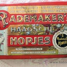 Cajas y cajitas metálicas: CAJA DE LATA ANTIGUA RADEMAKER'S CACAO EN CHOCOLATE. Lote 33565864