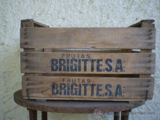 antigua caja de madera frutas brigittesa cajas y envases cajas y cajitas