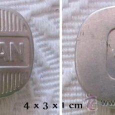 Cajas y cajitas metálicas: CAJA DE ALUMINIO FARMACIA FORMAN. Lote 33650793