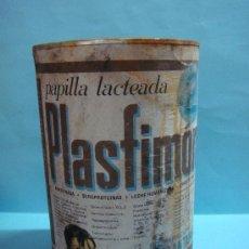 Cajas y cajitas metálicas: ANTIGUO BOTE LECHE PLASFIMON 2. PAPILLA LACTEADA. 700 GR. DIETETICOS ULTA. 140 PTAS. LATA. Lote 33671822