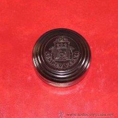Cajas y cajitas metálicas: CAJA DE BAQUELITA DE SEMPER VERUM. ALEMANIA 1910 - 1930.. Lote 33981846
