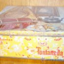 Cajas y cajitas metálicas: GALLETAS FONTANEDA CAJA METAL. Lote 34200439
