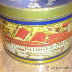 Cajas y cajitas metálicas: EL ALMENDRO TORTAS IMPERIALES CAJA METAL. Lote 34200471