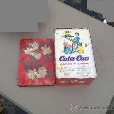 Cajas y cajitas metálicas: CAJA COLA CAO. Lote 34222380