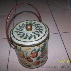 Cajas y cajitas metálicas: CAJA ANTIGUA. Lote 34636167