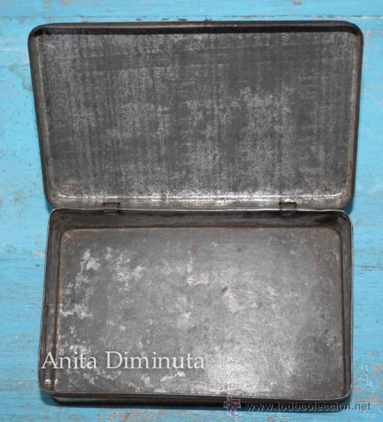Cajas y cajitas metálicas: ANTIGUO CAJA DE LOPEZ HERMANOS - FABRICA DE CONSERVAS - DULCE DE MEMBRILLO - BANDERA DE LA REPUBLICA - Foto 4 - 35053001